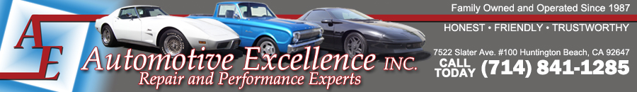 Automotive Excellence – Huntington Beach, CA 92647 Logo