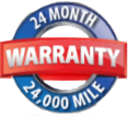 24 Month / 24K Mile Warranty